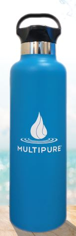 Free Multipure Water Bottle
