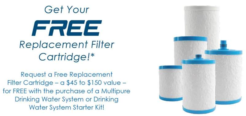 Multipure free replacement cartridge coupon code